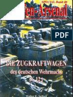 98408773 SP040 Die Zugkraftwagen Der Deutschen Wehrmacht 8 12t