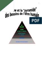 Maslow Et La Pyramide Des Besoins (G.M.)