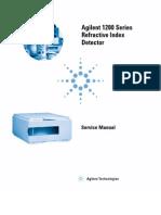 Agilent 1200 Series RI Detector_service Manual