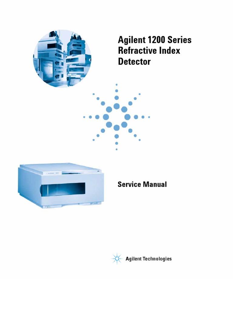 Agilent 1200 series ri detectorservice manual refraction agilent 1200 series ri detectorservice manual refraction refractive index fandeluxe Images