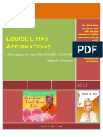 121557600 Affirmations of Louise Hay