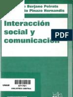 1 BERJANO y PINAZO, Interaccion Social_1 El Proceso de Comunicacion