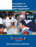 Training Module on Cerebral Palsy