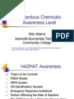 Hazchem Awareness