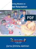 Training Module on Mental Retardation