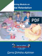 Training Module on Mental Retardation