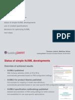Simple IfcXML | Presentation Summary Phase1