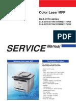 Samsung CLX-3170, CLX-3175 Color Laser MFP Service Manual