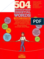 504 Absolutely Essential Words 3rd Edition-Barrons
