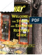 Subway Student Guide