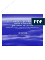 Microfinance Policies and Regulatory System in Tanzania