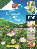 Catalog 2012 produse Fares Bio Vital