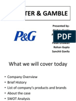 p&g Presentation