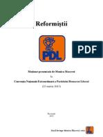 Motiunea Reformistii