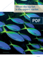 FishWhen the big fish is the export market