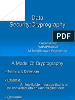 Data Security cryptography