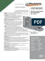 Waukesha VGF36GSID Generator