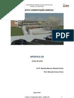 Projeto e Computacao Grafica - Apostila Modulo 2D - A Gosto 2010