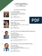 Senarai Ahli Mesyuarat Ketua Setiausaha Kementerian Dan Ketua Perkhidmatan 2013