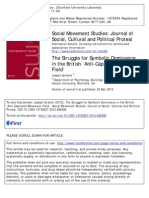 Social Movement Studies Volume  issue 0 2012 [doi 10.1080%2F14742837.2012.666396] Ibrahim, Joseph -- The Struggle for Symbolic Dominance in the British 'Anti-Capitalist Movement Field'