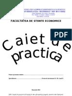 Caiet de Practica stiinte economice