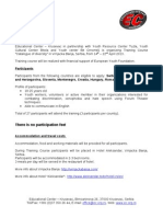 Call for Participants EYF