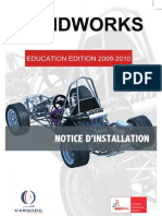 Notice Installation SolidWorks EE 2009-2010