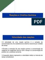 Reações e Cinética Química
