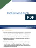IntelliResearch Company Profile