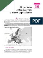 30. O período entreguerras- o novo capitalismo