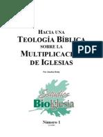 TEOLOGIA BIBLICA SOBRE LA MULTIPLICACION DE IGLESIAS