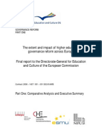 The extent and impact of higher education