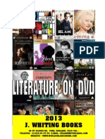 2013 Booklet  - literary film adaptations on dvd - www.worldonlinecinema.com