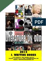 2013 Booklet  - literary film adaptations on dvd - www.worldonlinecinema.com
