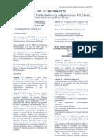 DS. N 083-2004-PCM - TUO de La Ley de Contrataciones y Adquisiciones Del Estado _Derogado