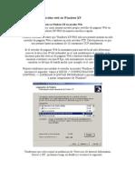 Como Montar Un Servidor Web en Windows XP