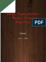 Seeded Region Growing using Line Scan algorithm - Stack base Implementation