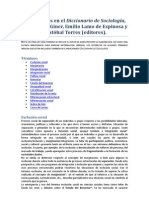 Diccionario-de-Sociología SALVADOR GINNER DEFINICIONES