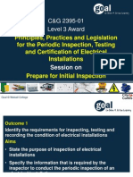 2357 Session Requirements of Inpection and Testing