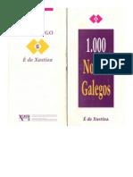 1.000 nomes galegos