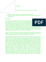 Regulasi Dan Homeostasis Dalam Tubuh
