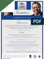 SAWIP 2013 Invite