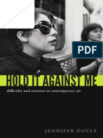 Hold It Against Me by Jennifer Doyle