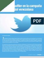El rol de Twitter en la campaña presidencial venezolana