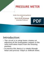 Sound Pressure Meter(08-4c4)