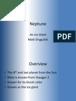 Drygulski Neptune Presentation