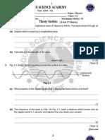 Physics Test(Unit 13 PDF