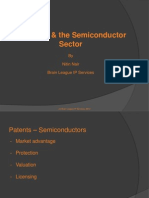 Patenting and Semi Conductor Sector