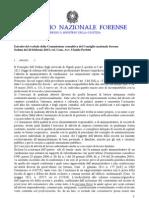 PARERE CNF Approvato Il 22-2-2013