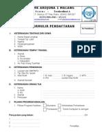 Formulir Pendaftaran Siswa Baru